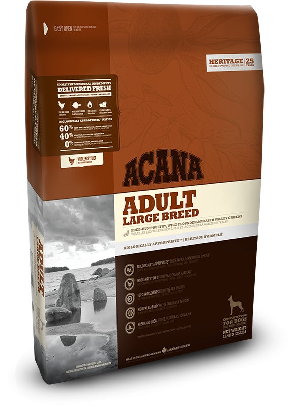Acana Heritage - Adult Large Breed 11.4kg