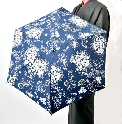 『紫陽花は縋り付く』晴雨兼用日傘