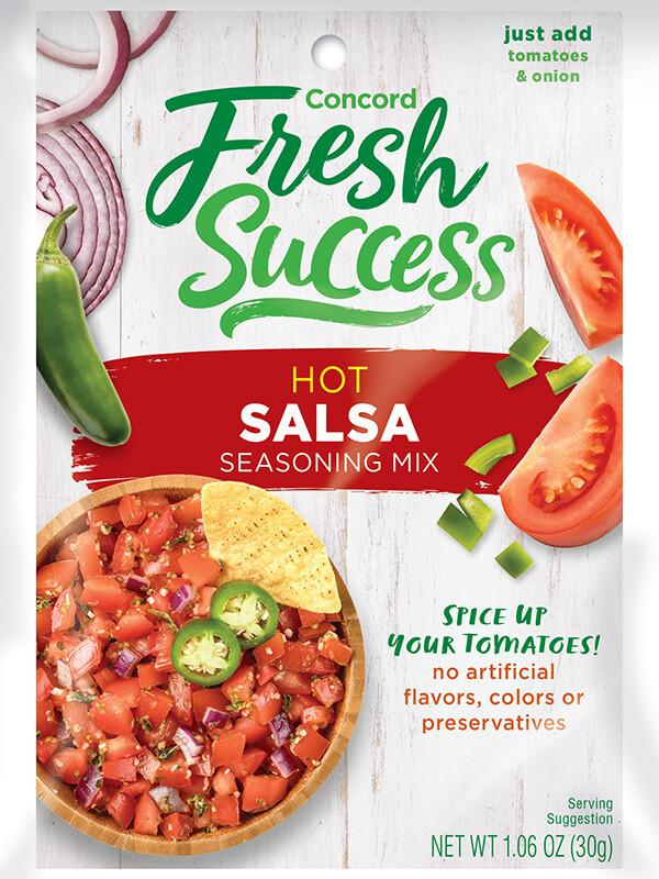 Fresh Success Hot Salsa