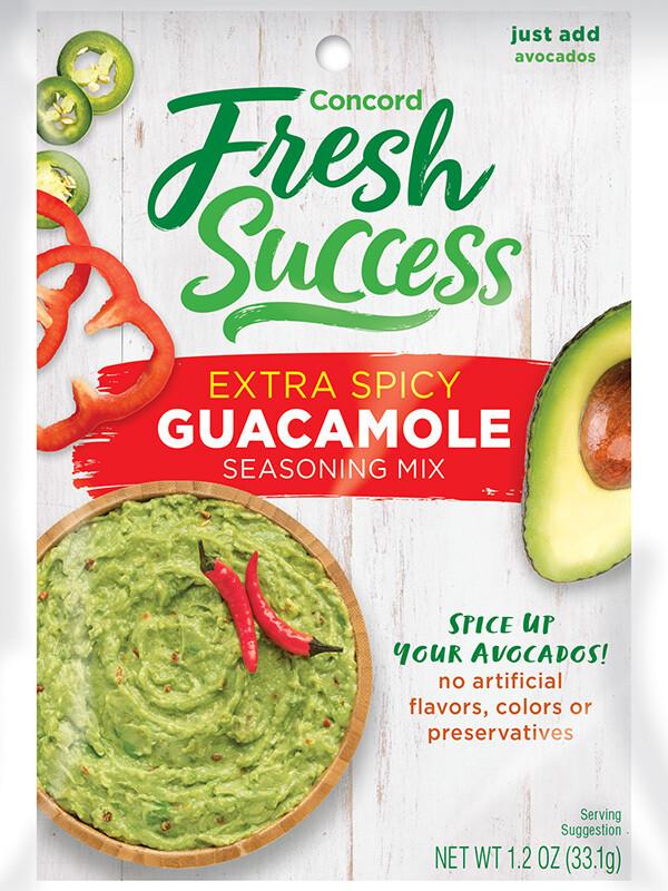 Fresh Success Extra Spicy Guacamole