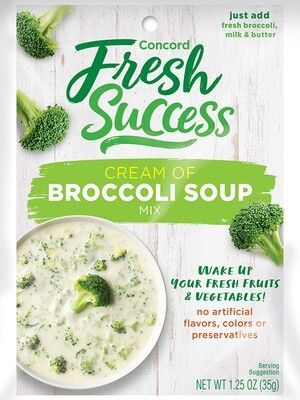 Fresh Success Broccoli Soup