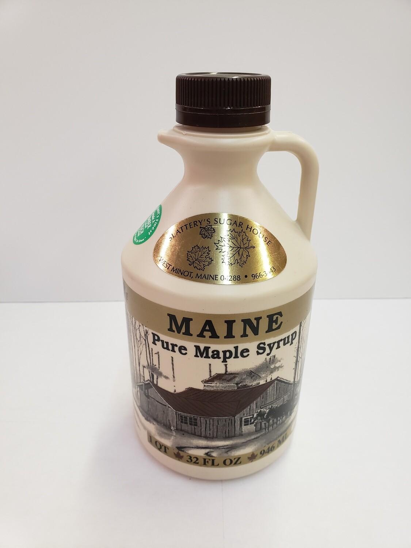 Slattery's Sugarhouse - Maine Maple Syrup - Quart