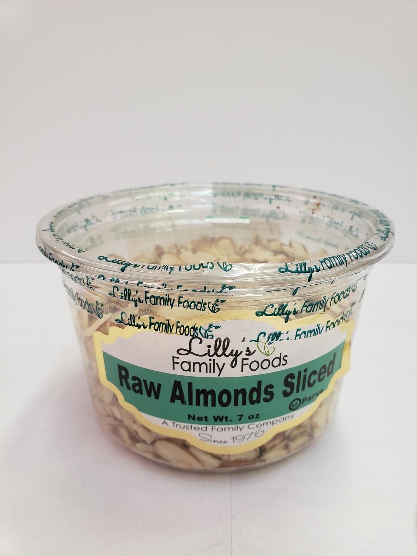 Raw Almonds Sliced