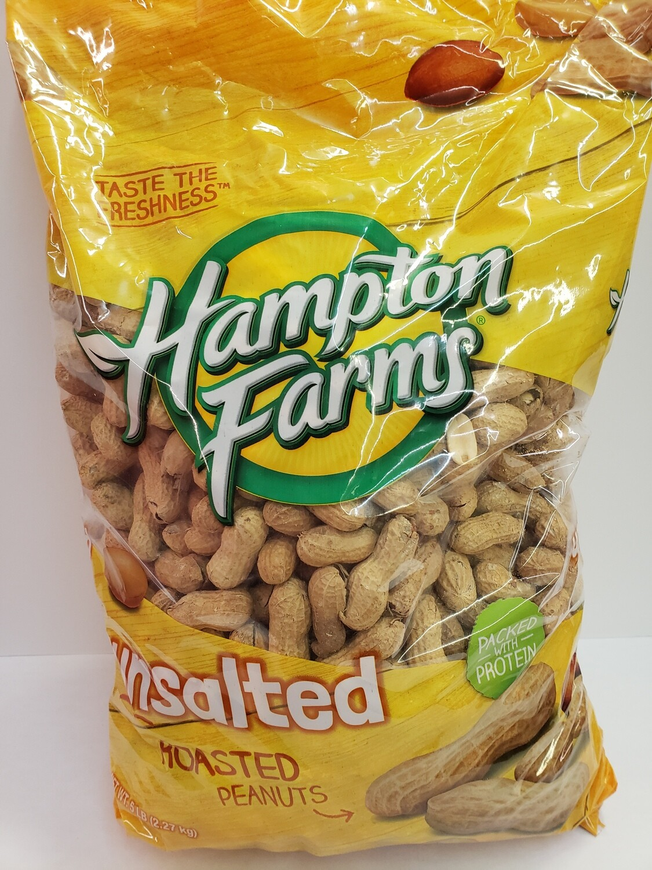 Peanuts Unsalted 5lb
