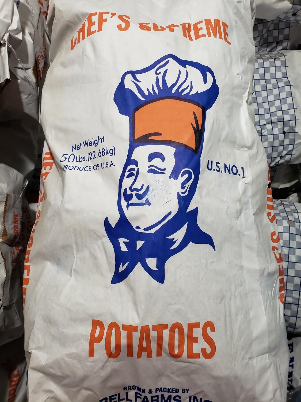 Potatoes 50lb Chef