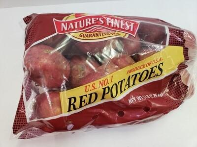 Potatoes Red 4 lb NATIVE