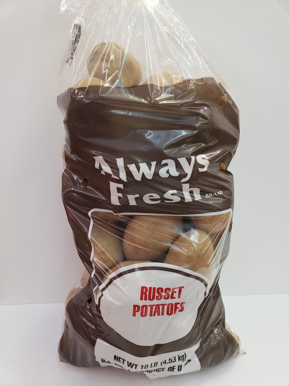 Potatoes Russet 10lb NATIVE