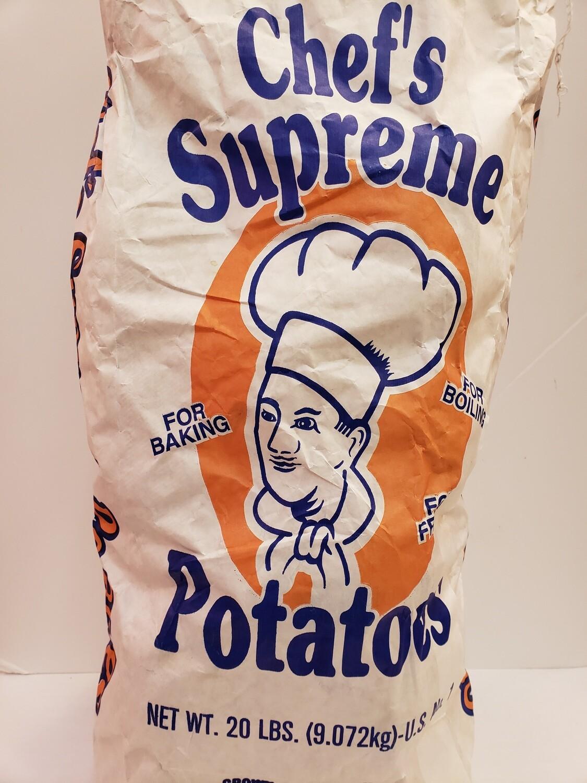 Potatoes Chef 20lb NATIVE