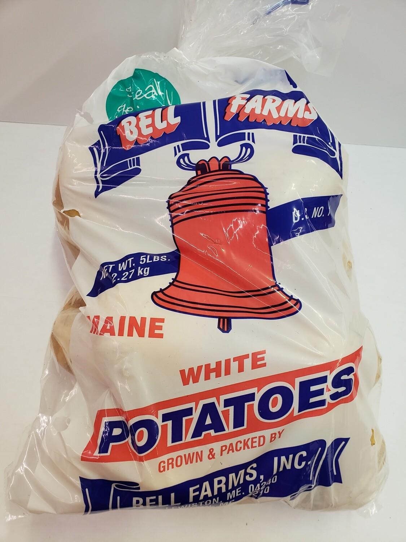 Potatoes White 5lb NATIVE
