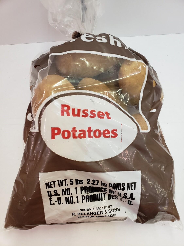 Potatoes Russet 5 lb NATIVE
