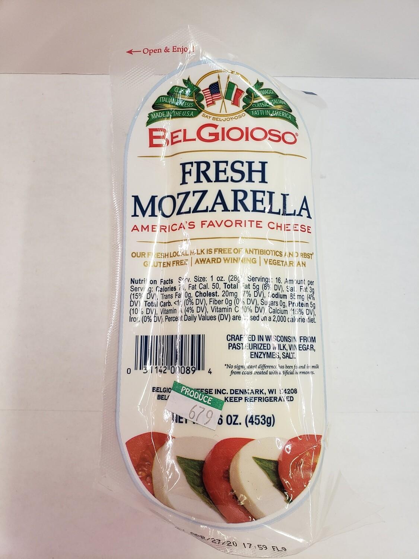 Cheese Fresh Mozzarella Block 16oz