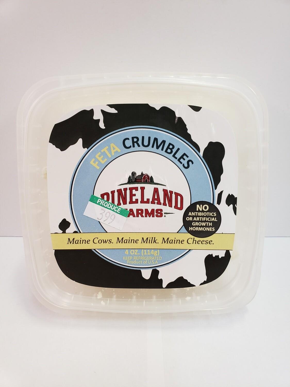 Cheese Pineland Feta Crumble 4oz