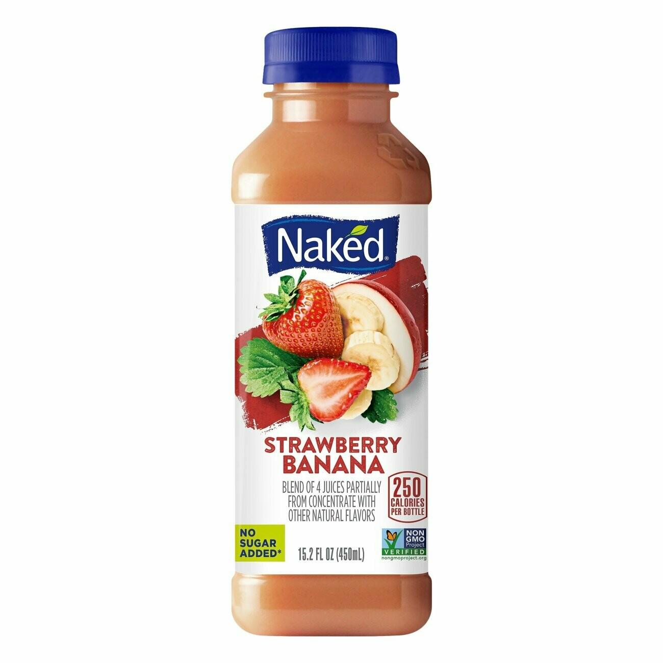 Naked Strawberry Banana 15.2oz