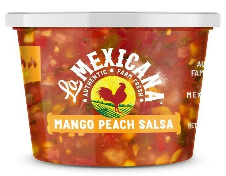 Salsa Mango Peach - 16oz