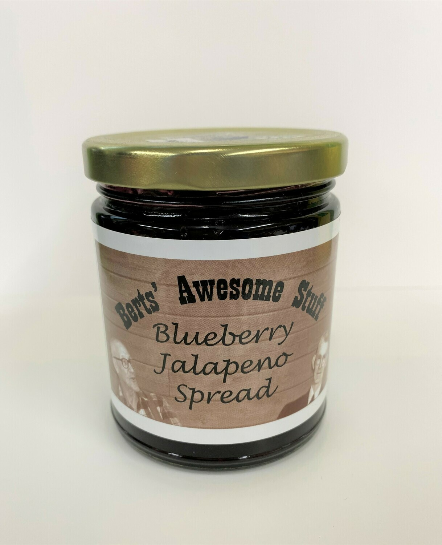 Bert's Blueberry Jalapeno Spread