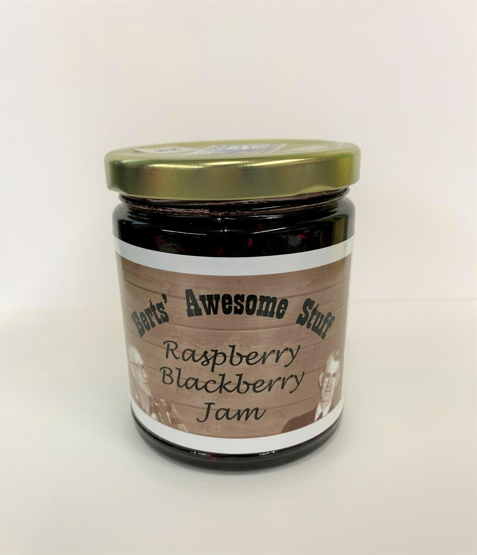 Bert's Raspberry Blackberry Jam