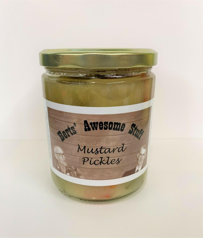 Bert's Mustard Pickles