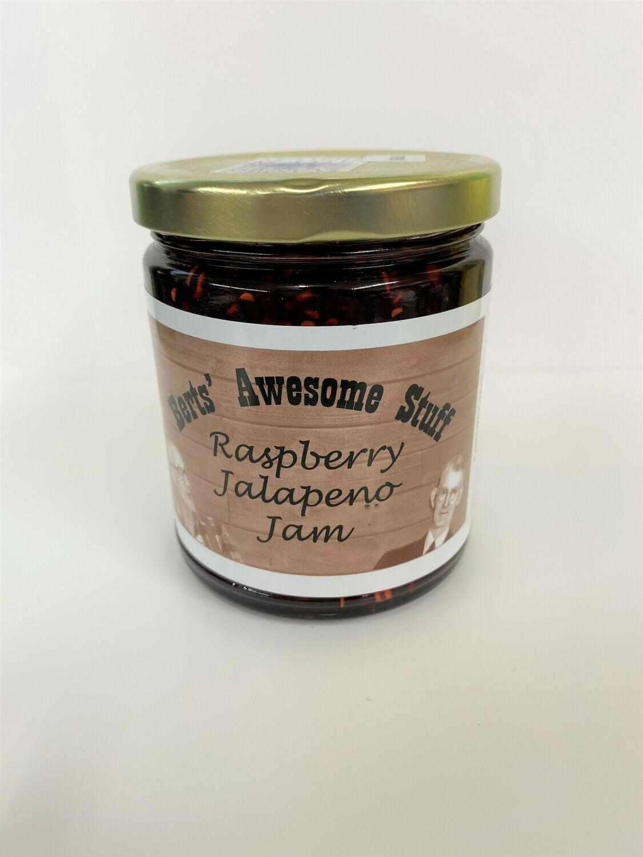 Bert's Raspberry Jalapeno Jam