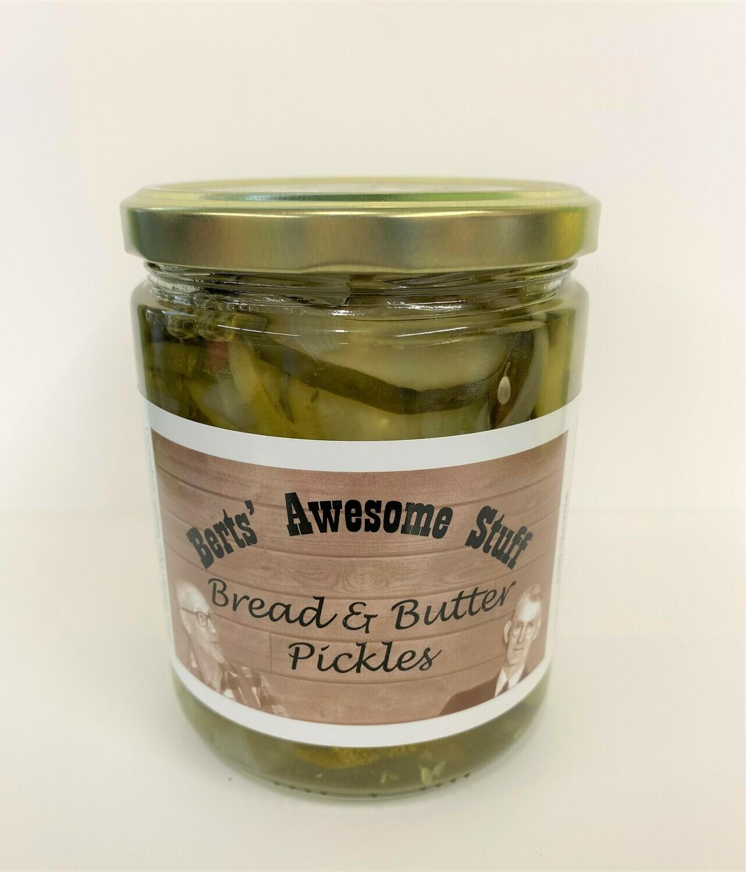 Bert's Bread & Butter Pickles
