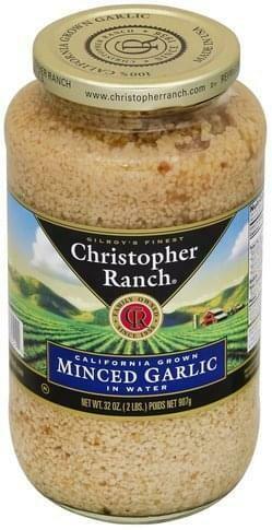 Minced Garlic 32oz