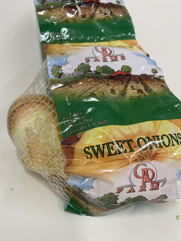 Onions Vidalia 3lb Bag