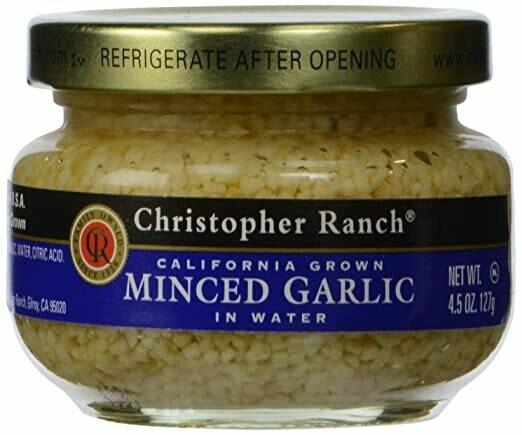 Minced Garlic 4.5oz
