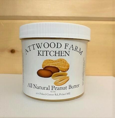 Attwood Farm - All Natural Peanut Butter