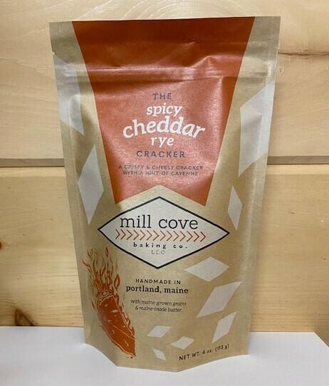 Mill Cove - Spicy Cheddar Rye Cracker