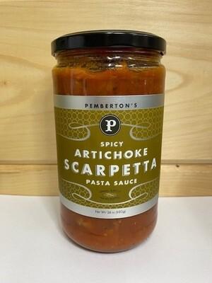 Pemberton's Spicy Artichoke