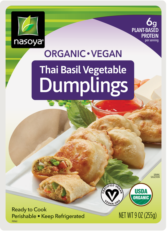 Thai Basil Vegetable Dumplings
