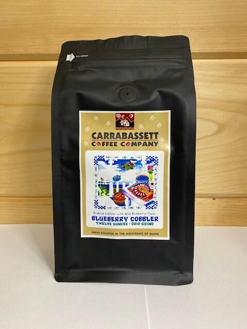 Carrabassett Coffee - Blueberry Cobbler