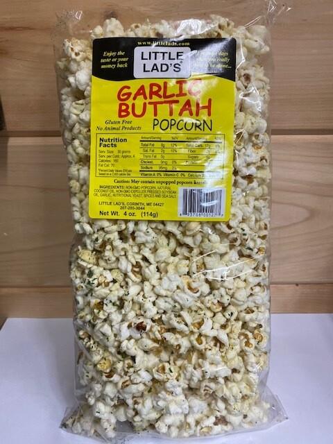 Little Lad's Popcorn - Garlic Buttah