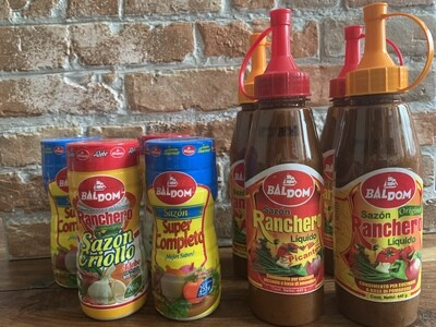 Sazones Dominicanos (Seasoning)