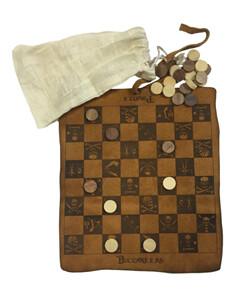 Pirate Checker Set