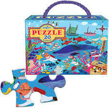 20 piece Puzzle, Under the Surface