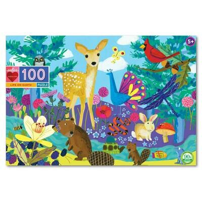 Puzzle, 100 piece 'Life on Earth