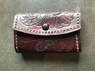 Hand Crafted Leather Key Wallet