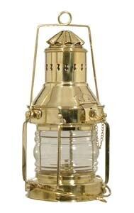Brass Ship Lamp