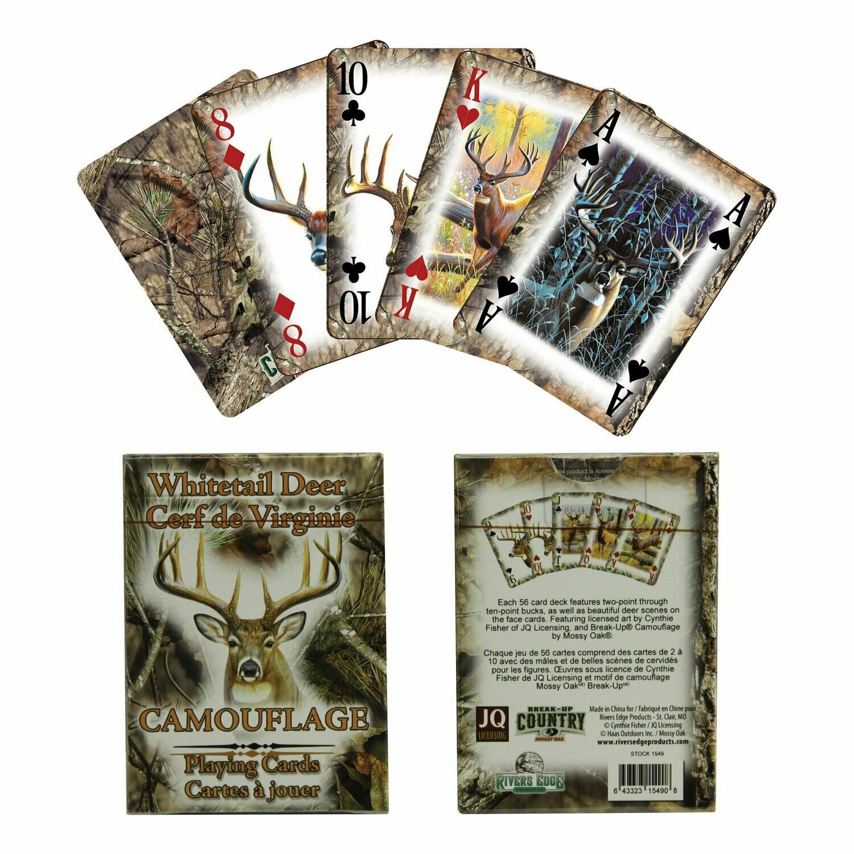 Deer Playing Cards