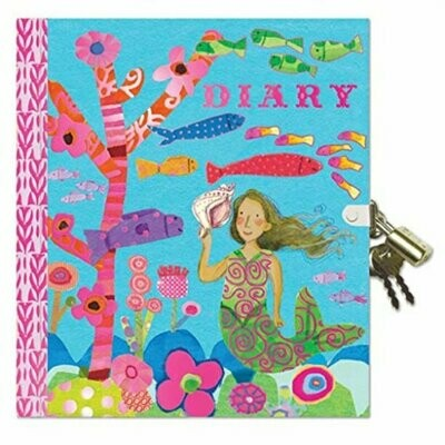 Diary, mermaid/otter