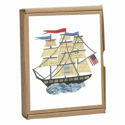 Card set, Tall ship