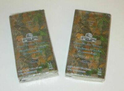 Green Camo 3 Ply Pocket Tissue Paper
