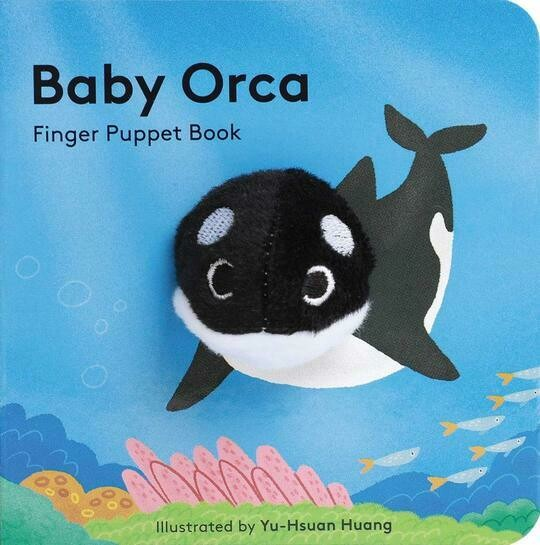 Baby Orca - Finger Puppet Board Book
