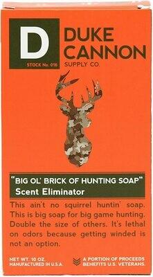Duke Cannon Big 'Ol Brick of Hunting Soap, Scent Eliminator, 10oz