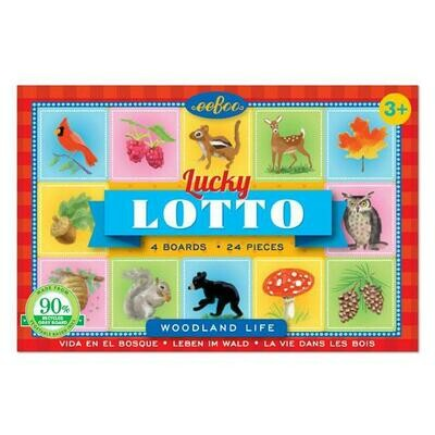 Lucky Lotto Game; Woodland Life