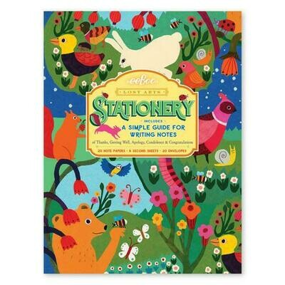 Lost Arts Stationary Set for Kids In The meadow