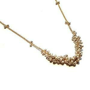 Clustered Wisteria Necklace in Sterling Silver