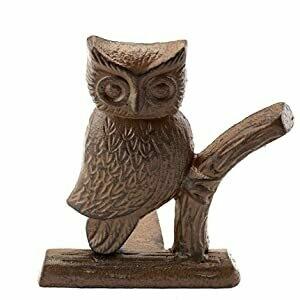 Cast Iron Owl Door Stop