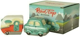 Ceramic Road Trip Salt And pepper Set