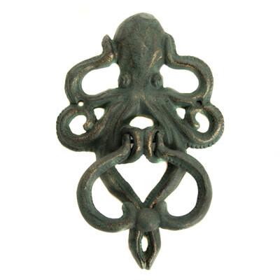 Octopus door knocker